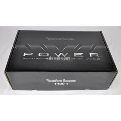 Rockford Fosgate Power T400-4 4-Channel Class AB Amp 800W