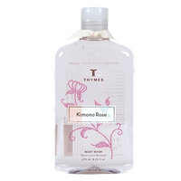 Thymes Body Wash, Kimono Rose, 9.25-Ounce Bottle
