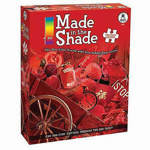 BePuzzled Made in the Shade - Red 750 Pcs Ages 12 and up