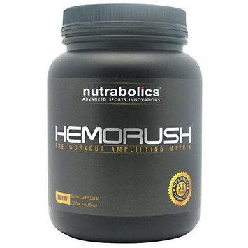 Nutrabolics Hemorush, Acai Berry, 2.86-Pound