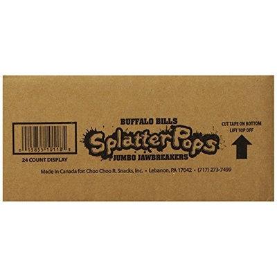 Buffalo Bills Premium Snacks Buffalo Bills SplashPops (24 assorted jumbo jawbreaker lollipops per 3.45-lb box)