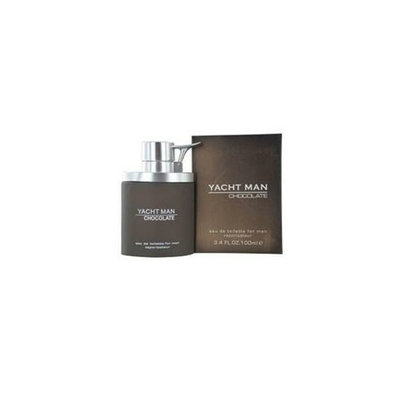 Myrurgia Yacht Man Chocolate By  Edt Spray 3. 4 Oz