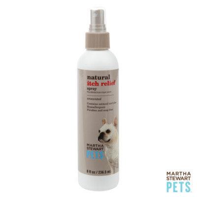 Martha Stewart PetsA Natural Unscented Itch Relief Dog Spray