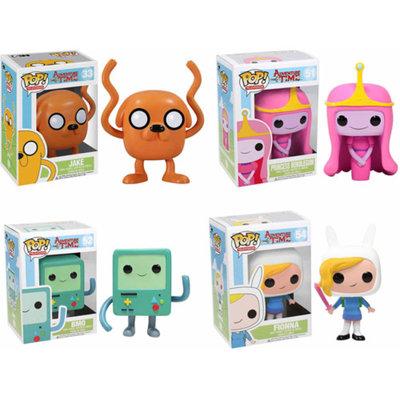 Funko Pop! Adventure Time TV Vinyl Collectors Set: Jake, Princess Bubblegum, BMO, Fionna