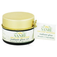 SanRe Organic Skinfood - Radiant Glow Light - Organic Tinted Facial Moisturizer For All Skin Types