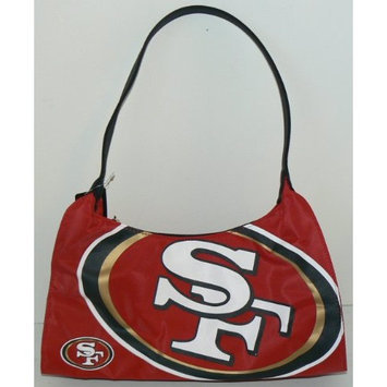 NFL Officially Licensed San Francisco 49ers Hyper Logo Hobo Style Purse Handbag