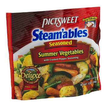 Pictsweet Steam'ables Summer Vegetables Seasoned