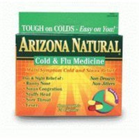ARIZONA NATURAL PRODUCTS Homeopathic Cold & Flu Medicine 20 CAPS