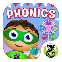 PBS KIDS SUPER WHY Phonics Fair for iPad