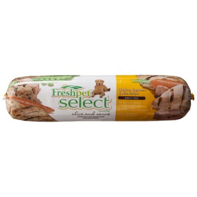Target Home Freshpet Select Slice and Serve Adult Dog Food - Chicken, Vegetable