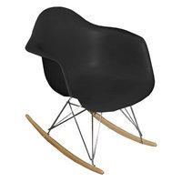 Pangea Home Dana Rocking Chair Black