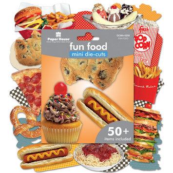 Paper House Productions, Inc Paper House Mini Die Cuts 50+/Pkg Fun Food
