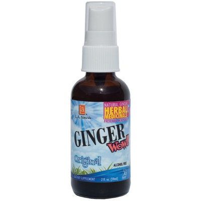 Ginger Wow Spray, 2 oz, L.A. Naturals