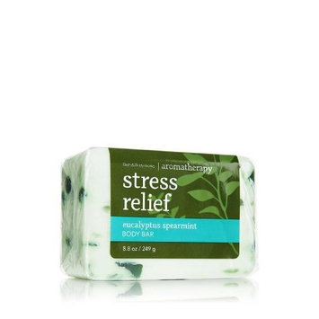 Bath & Body Works Stress Relief Eucalyptus Spearmint Body Bar Soap 8.8oz/249g
