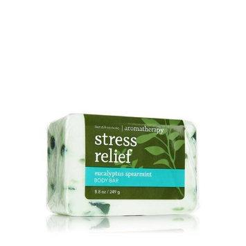 Bath & Body Works Stress Relief Eucalyptus Spearmint Body Bar Soap 8.8oz/249g