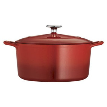 Tramontina 5.5 Quart Cast Iron Dutch Oven - Red