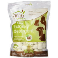 Grab Green 3-in-1 Laundry Detergent, Vetiver, 60 Loads
