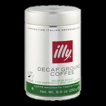 illy Decaf Ground Coffee Medium Roast