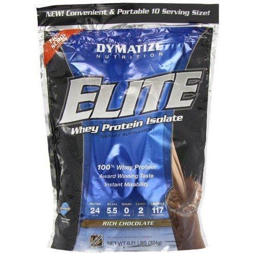 Garbage Dymatize Nutrition Elite Whey Shake, Chocolate, 10 Count