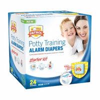 Potty Patrol Boys Starter Kit Potty Training Diapers, 24 ea
