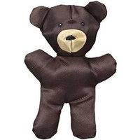 JW Pet Company Crackle Heads Canvas Bear Dog Toy, Large