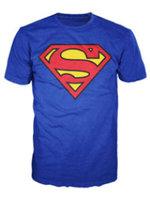 Bio World Merchandising Basic Superman Shield Mens Tee - Medium
