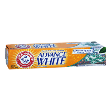 Arm & Hammer Advance White Brilliant Sparkle Fresh Mint Fluoride Anti-Cavity Toothpaste