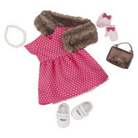 Our Generation Deluxe Retro Outfit - Polka Dot Dress