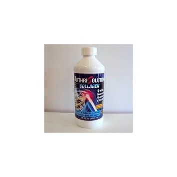 Liquid Collagen Arthrisolution 128,000 Mg Per 16 Oz Bottle & Vitamin C