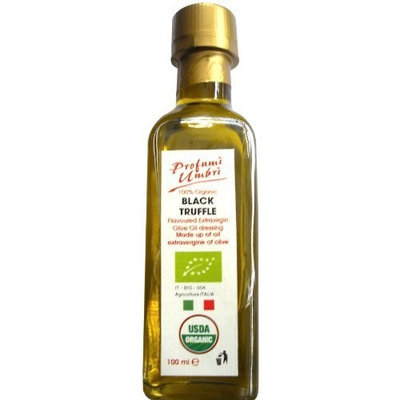 Profumi Umbri 100% Organic Black Truffle Olive Oil Dressing (100ml), 3.38-Ounce