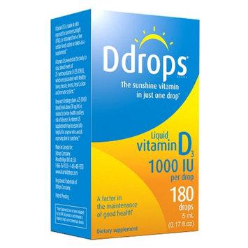 Ddrops Vitamin D3 1000 IU