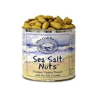 Blue Crab Sea Salt Nuts 12 oz can