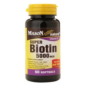 Mason Natural Super Biotin 5000 mcg