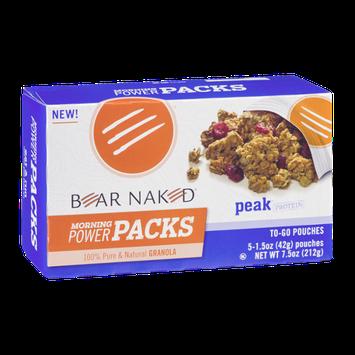 Bear Naked Morning Power Packs Peak Protein - 5 CT