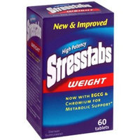Stresstabs High Potency Stresstabs, Weight, 60-Count Bottles