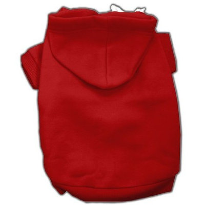 Mirage Dog Supplies Blank Hoodies Red S (10)