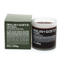 Malin+goetz MALIN+GOETZ Candle, 60 Hours - Cannabis, 9 oz