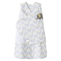 Halo HALO SleepSack Swaddle Gray Chevron - Newborn