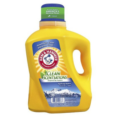 Arm & Hammer Arm& Hammer Clean Scentsations Laundry Detergent Purifying Waters -