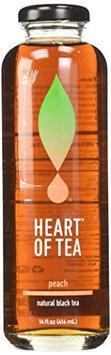 Heart Of Tea ICED TEA, PEACH, (Pack of 12)
