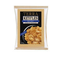 Terra Kettles Krinkle Cut Sea Salt Potato Chips, 2 Ounce Bags (Pack of 24)