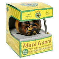 Guayaki Pre-Columbian Gourd Gift Pack with 6 oz of Loose Yerba Mate
