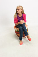 Cowrind Studios, Inc. Hamburger Junior Blow-Up Inflatable Chair
