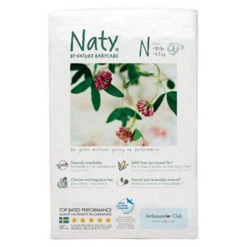 Naty by Nature Babycare Nature Babycare Eco-Diapers - Newborn (26 Count)