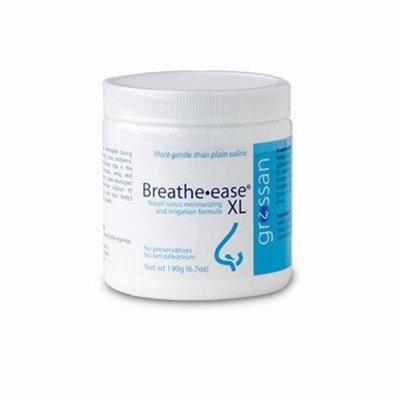 Grossan Breathe-Ease XL Saline Powder - 190 Gram Bottle