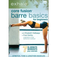Acorn Media Exhale: Core Fusion - Barre Basics For Beginners (Widescreen)