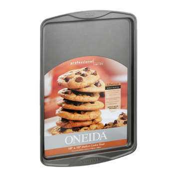 Oneida 10'' x 15'' Medium Cookie Sheet