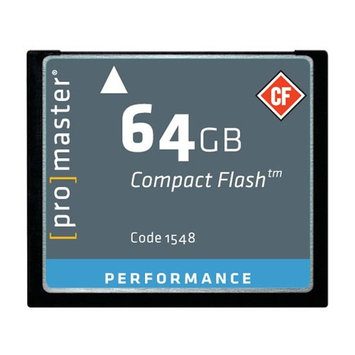 ProMaster Performance Compact Flash Memory Cards
