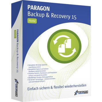 Paragon 402HEEVL3 Backup & Recovery 15 Home, 3-Pack (Email Delivery)