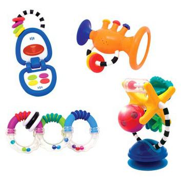 Sassy Infant Gift Set - Toys for 6+ Months